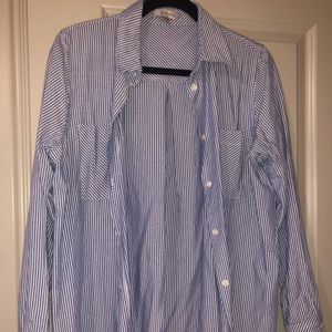 Beach cover-up button up